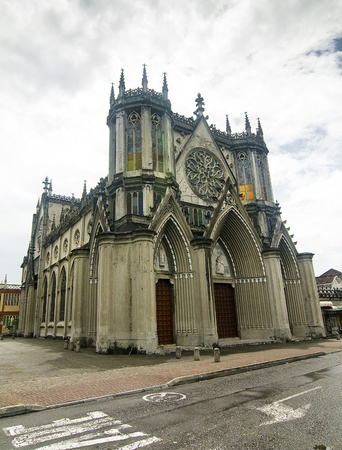 San Jose Gothic Church at Pereira, Colombia Stock Photo - 14481141
