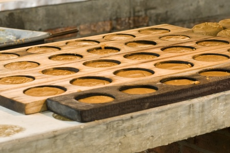 Raw Sugar Panela in the Preparation Process