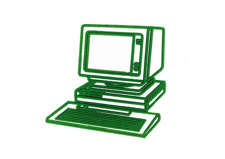 Abstract Environmental Computer photo