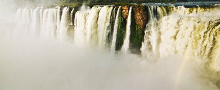 Iguazu Falls Panoramic photo