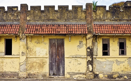 Abandoned House built on Fortification Ruins