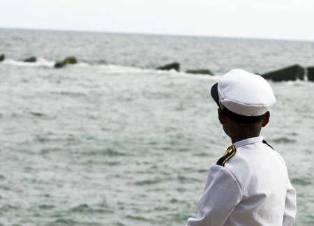 mariner: Young Mariner Waiting for the Ship