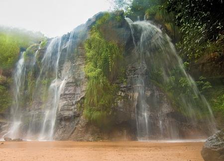 bolivia: Las Cuevas Waterfalls at Santa Cruz, Bolivia