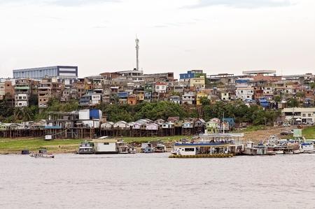 amazonas: Amazon River and the City of Manaus, Brazil