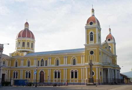 granada: Cathedral of Granada, Nicaragua Stock Photo