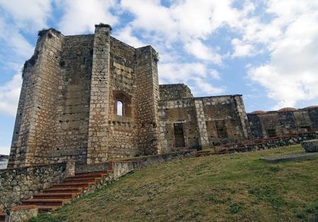 santo: Ruins of San Francisco Monastery at Santo Domingo, Dominican Republic