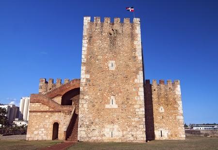 dominican republic: Ozama Fortress in Santo Domingo, Dominican Republic Stock Photo