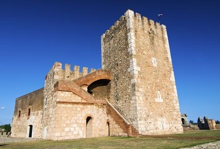 Ozama Fortress in Santo Domingo, Dominican Republic Editorial