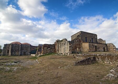Ruins of San Francisco Monastery at Santo Domingo, Dominican Republic photo