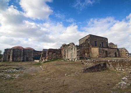 Ruins of San Francisco Monastery at Santo Domingo, Dominican Republic