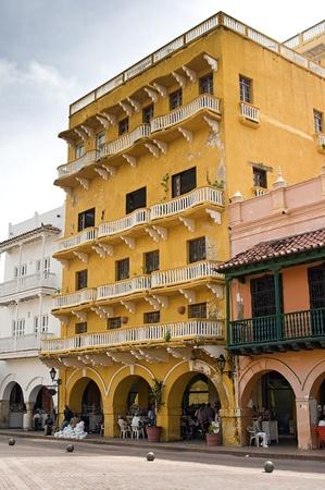 paseo: Paseo de los Dulces Street at Cartagena, Colombia