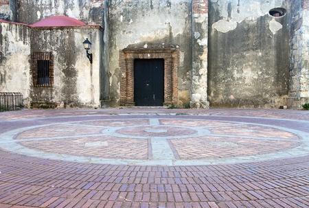 santo domingo: Convento de los Dominicos Plaza at Santo Domingo, Dominican Republic Stock Photo