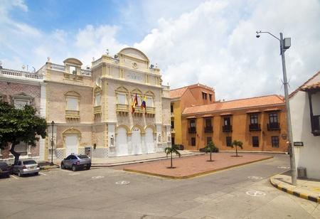 Teatro Heredia at Cartagena de Indias, Colombia