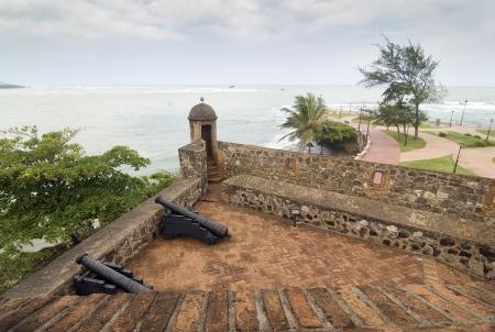 ufortyfikować: San Felipe Forteca w: Puerto Plata, Dominikana