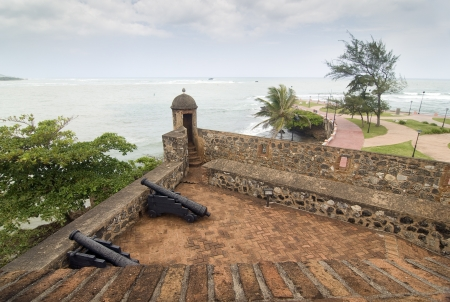 San Felipe Fortress at Puerto  Plata, Dominican Republic Stock Photo - 21937542