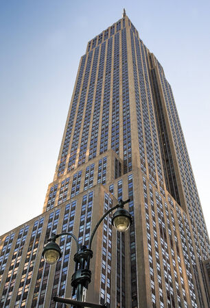 Empire State Building in Manhattan, New York City