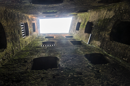 Ancient Fortress Abstract Inside Tower