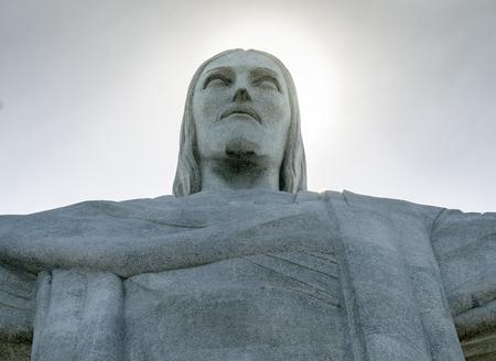 Christ the Redeemer Monument at Rio De Janeiro, Brazil