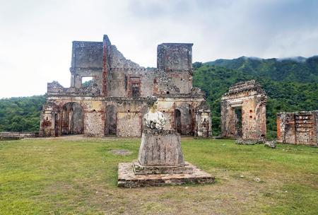haiti:  Sans-Souci Palace Ruins at Milot, Haiti