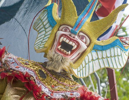 fasnet: Carnival Demon  Stock Photo