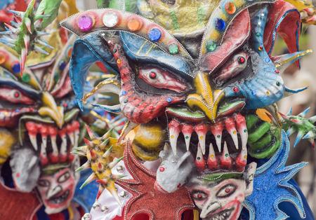 Wild Demons Celebrating  Banco de Imagens