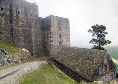 Citadelle Laferriere at Milot, Haiti