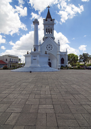 dominican republic: San Pedro Macoris Cathedral, Dominican Republic