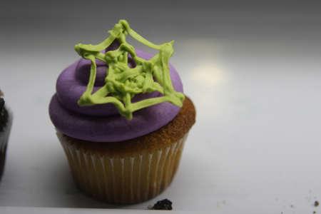 web: Web Halloween Cupcake Stock Photo