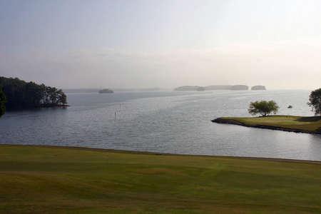 Morning Mist at Georgia Golf Resort Stock Photo - 216380