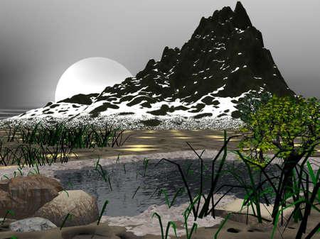 berg: Cold Pond
