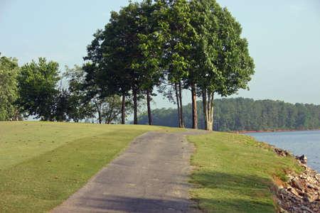 Golf Resort Cart Path Stock Photo - 218668