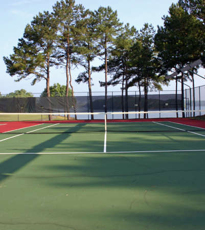 Tennis Court Stock Photo - 218626