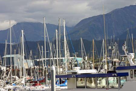Anchored in Seward Bay Stock Photo - 238131
