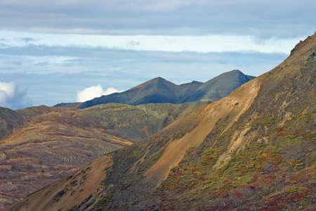 Top of Alaskan Mountain Фото со стока