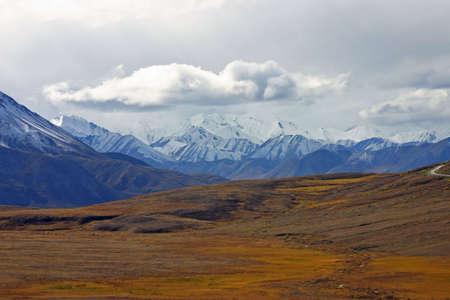 plains: Open Plains to Mountains Stock Photo