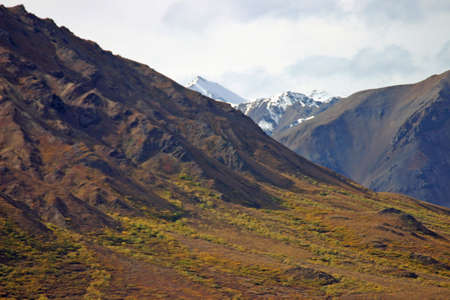 mountainside: Alaska Mountainside Stock Photo