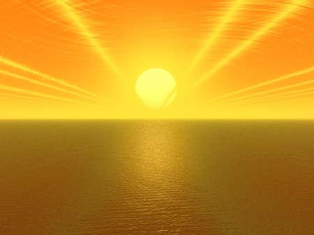 Sun Streaks Stock Photo - 246170