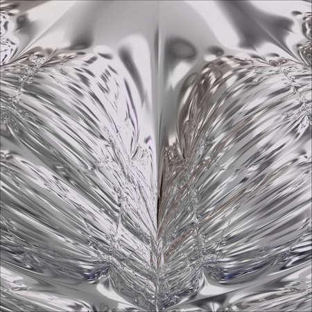 Aluminum photo