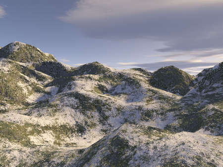 snowy scape