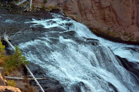 the rapids: Smooth Rapids Stock Photo
