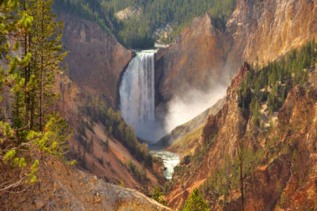 Yellowstone Falls photo