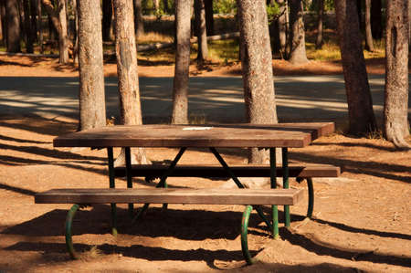 Picnic Table Stock Photo - 530855