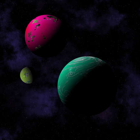 Planets Stock Photo - 596321