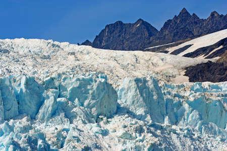 Blue Glacier Ice photo