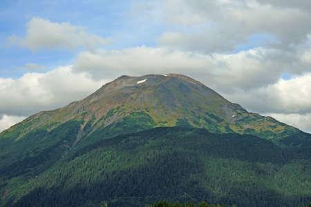 Mountain in Alaska photo