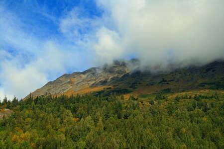 Alaska Mist Stock Photo - 1806071
