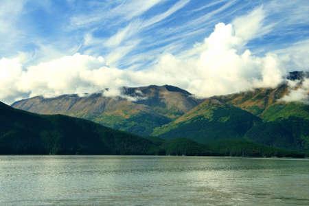 Pretty sky in Alaska photo