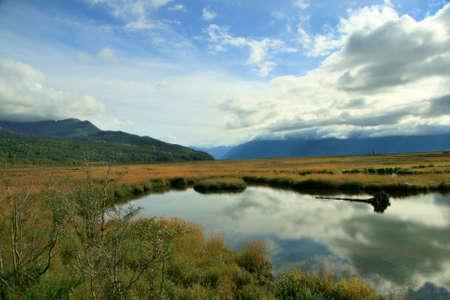 Alaskan Pond 版權商用圖片