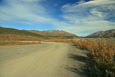 road through Alaska photo