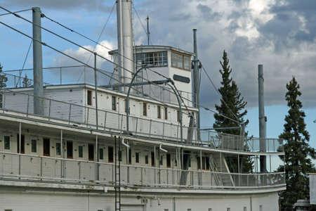 Old Sternwheeler in Fairbanks photo